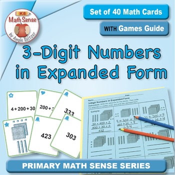 Multi-Match Game Cards 2B: 3-Digit Numbers in Expanded Form