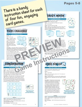 3-Digit Numbers in Expanded Form: 40 Math Matching Game Cards 2B17