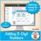 Adding 3-Digit Numbers: Math Matching Game Cards 3B