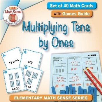 Multi-Match Game Cards 3B: Multiplying Tens by Ones