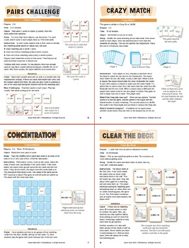 FREE Multiplying and Dividing by 10: 40 Math Matching Game Cards 4B11