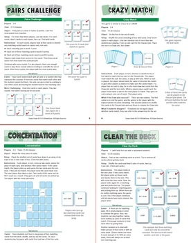 Multiplying Decimals Less than 1: 40 Math Matching Game Cards 6N23