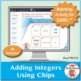 Multi-Match Game Cards 7N: Adding Integers Using Chips