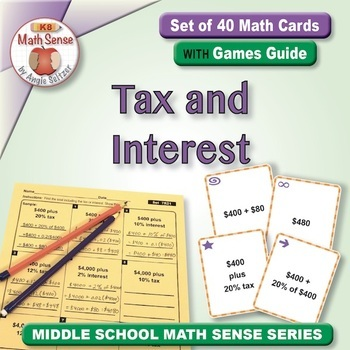 Multi-Match Game Cards 7R: Tax and Interest