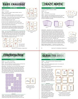 Tax and Interest: 40 Math Matching Game Cards 7R21
