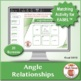 Angle Relationships: 40 Math Matching Game Cards 8G Geometry