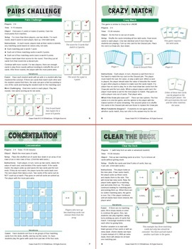 Fractions as Repeating Decimals: 40 Math Matching Game Cards 8N12