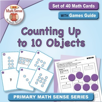 Multi-Match Game Cards KC: Counting Up to 10 Objects