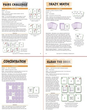 Multiplying Unit Fractions Using Models: 40 Math Matching Game Cards 5F23