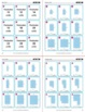 Same Perimeter, Different Area (Tiled Shapes): 40 Math Matching Game Cards 3M