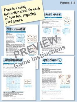 Understanding 11-19 Using Coins: 40 Math Matching Game Cards 1B22