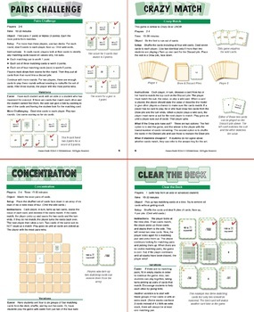 Understanding Square Roots: 40 Math Matching Game Cards 8E14