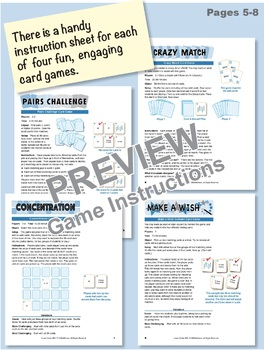 Understanding Tens & Ones (with Base 10 Blocks): Math Matching Game Cards 1B