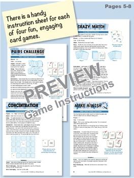 Understanding Tens & Ones (Base 10 Blocks): 40 Math Matching Game Cards 1B21