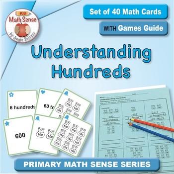 Multi-Match Game Cards 2B: Understanding Hundreds