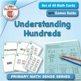 Understanding Hundreds: 40 Math Matching Game Cards 2B