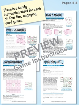 Multi-Match Game Cards 2M: Time Before the Hour