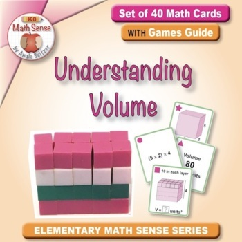 Understanding Volume: 40 Math Matching Game Cards 5M33