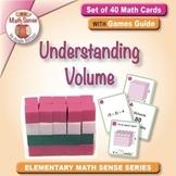 Understanding Volume: 40 Math Matching Game Cards 5M33