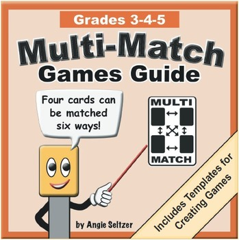 Multi-Match Games Guide for 3-4-5 with Create-A-Game Templates