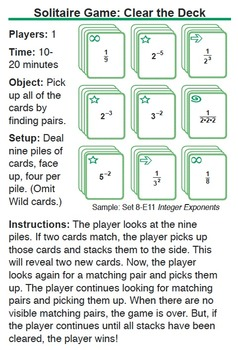 Multi-Match Games Guide for 6-7-8 with Create-A-Game Templates