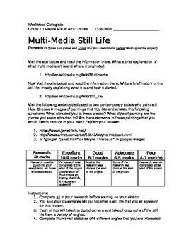 Multi-Media Still Life