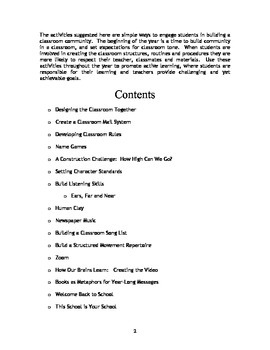 Multi-Modal Community Building Activities