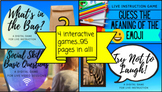 Multi Pack Distance Learning Social Skills Games for Live
