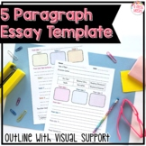Multi Paragraph Essay Writing Format with Visual Support