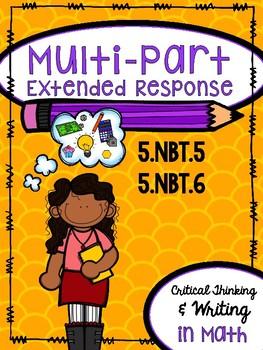Multi-Part Extended Response - 5.NBT.5 & 5.NBT.6