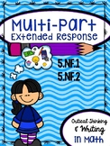 Multi-Part Extended Response - 5.NF.1 & 5.NF.2