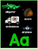 Multi Picture Alphabet Posters