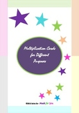 Multi Purpose Multiplication Cards  {FREEBIE}