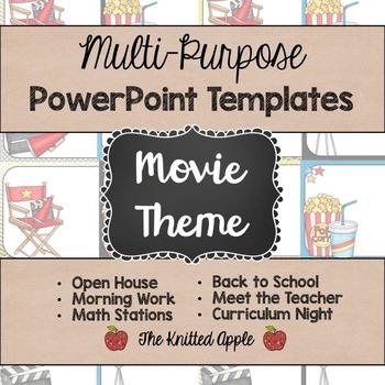 Movie Theme PowerPoint Templates