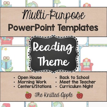 Reading Theme PowerPoint Templates