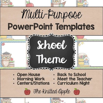 School Theme PowerPoint Templates