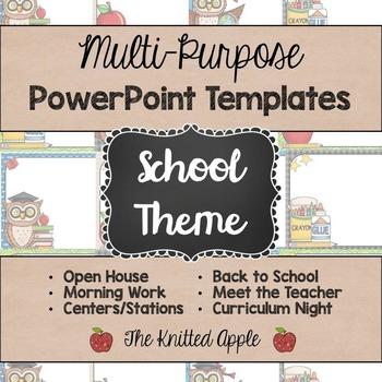 School Theme PowerPoint Templates