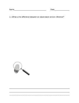 Multi-Purpose Questions Teachers: Unit 1 - Scientific Processes