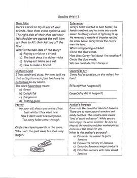 Multi-Purpose Reading Grids 1-25