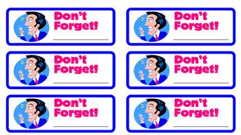 Multi-Purpose Teacher Labels (Stickers)
