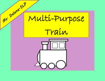 Multi-Purpose Train Speech Therapy (Behavior Management, A