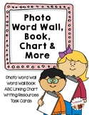 Photo Word Wall, Book, Chart and More