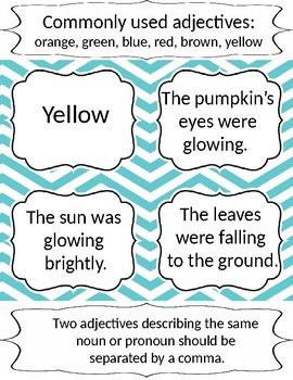 Multi-Sensory Adjective Mini-lesson