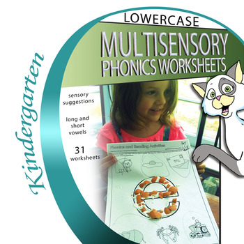Multi-Sensory Alphabet Phonics Worksheets