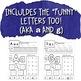Alphabet Practice Pages for Pre-K or Kindergarten