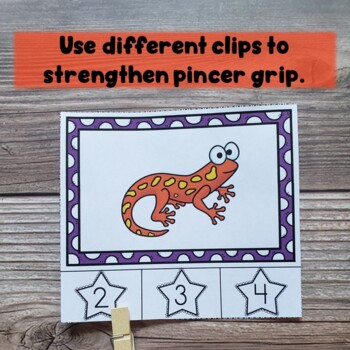 Kinesthetic, Low-Prep Syllable Counting Clips