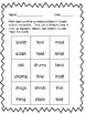 Multi-Sensory Reading Program Compatible Materials: Closed Syllable Exceptions