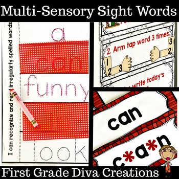 Multi-Sensory Sight Words and High Frequency Words