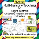 Sight Words - Multi-Sensory Teaching of Sight Words