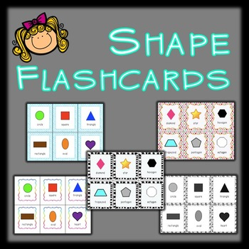 Multi Shape Flashcards